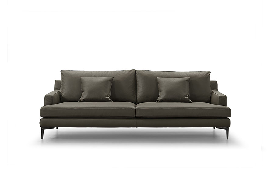3 seater leather sofas S1903-S