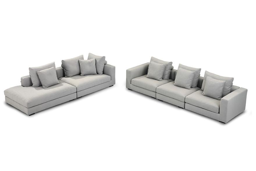 Home sectional sofa extra deep S981