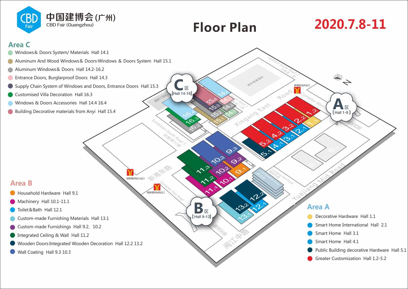 CBD Fair Floor Plan